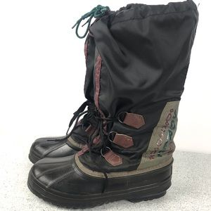 f35618db421 Shoes - VINTAGE! SOREL Insulated Snow Boot Tie Up Lined